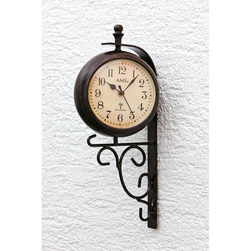 Horloge murale radiopilotée « Siesta » AMS
