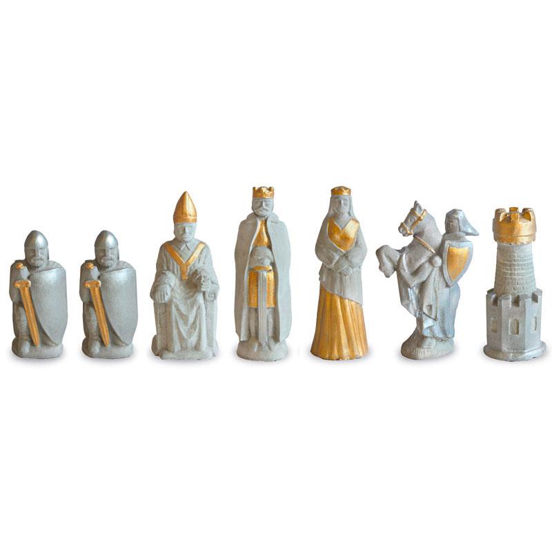 "Schachfiguren-Set ""König Arthur"""