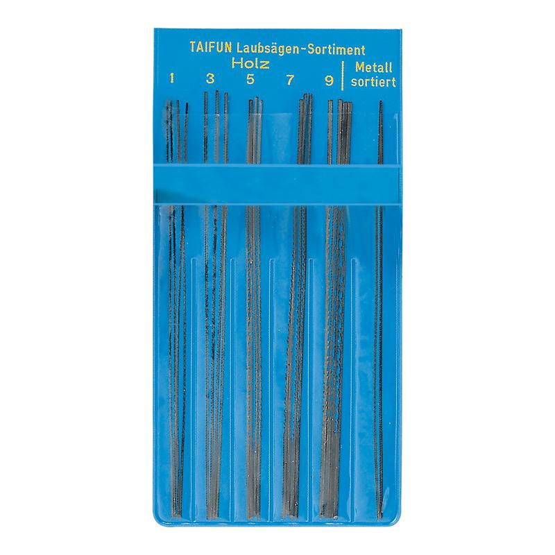 Laubsägeblätter für Metall und Holz