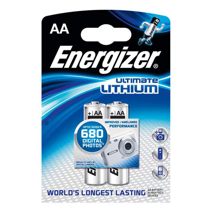 Piles lithium Energizer Ultimate