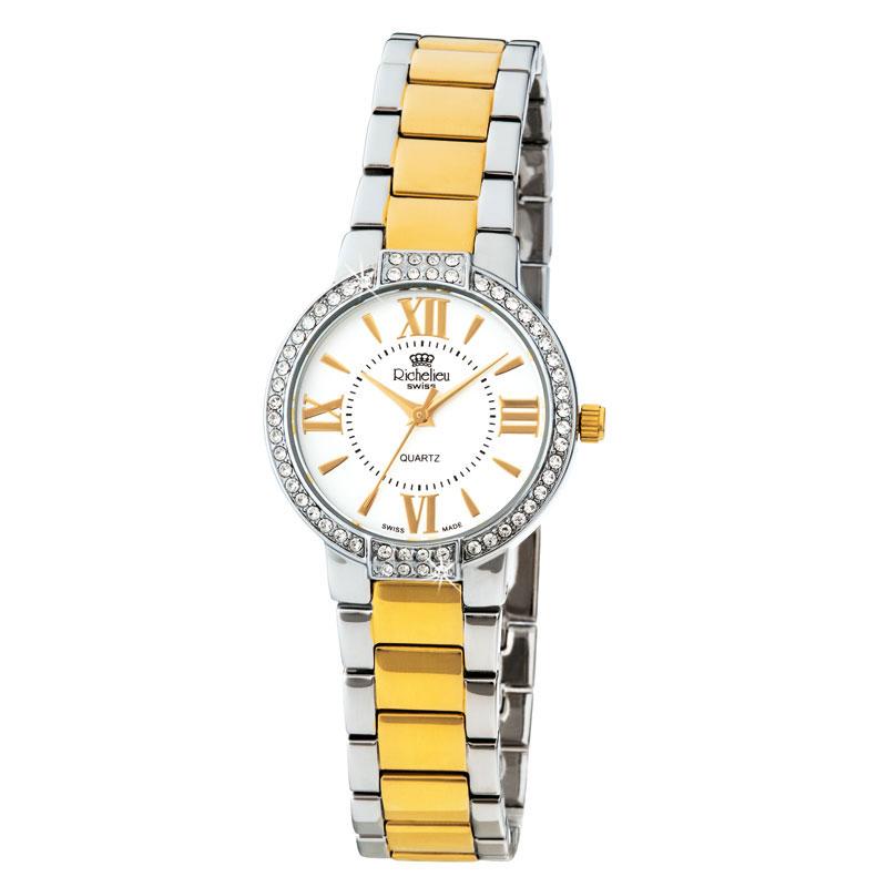 """Elégante montre-bracelet quartz pour dame """" SWISS"""