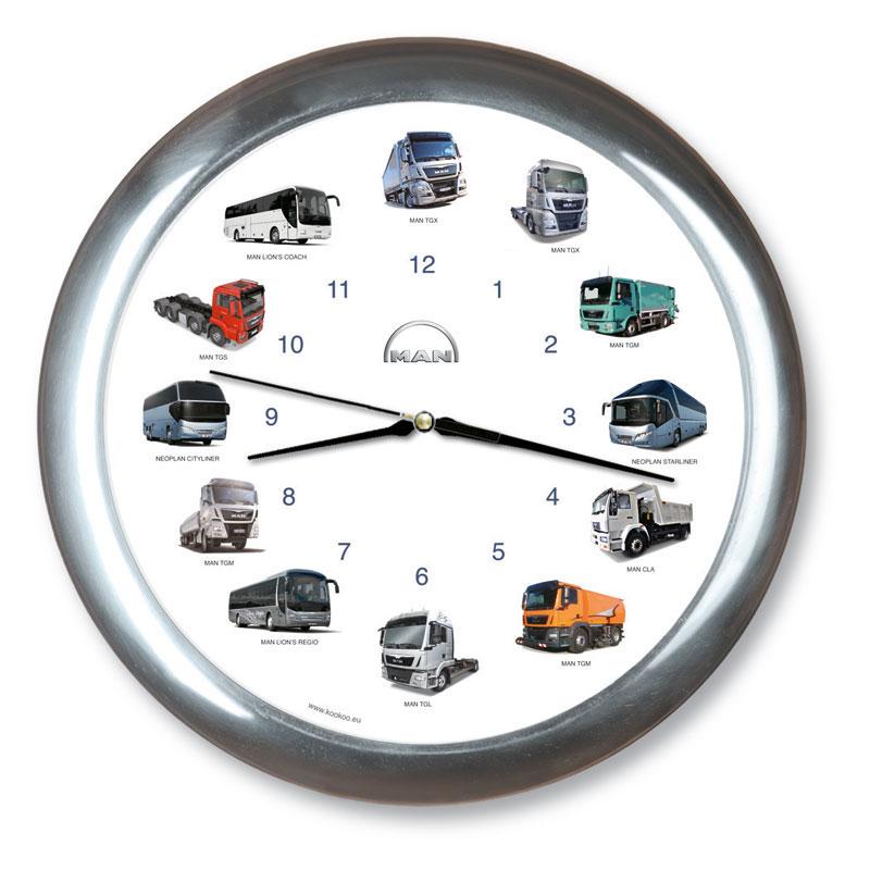 "Wanduhr ""MAN Truck Clock"""
