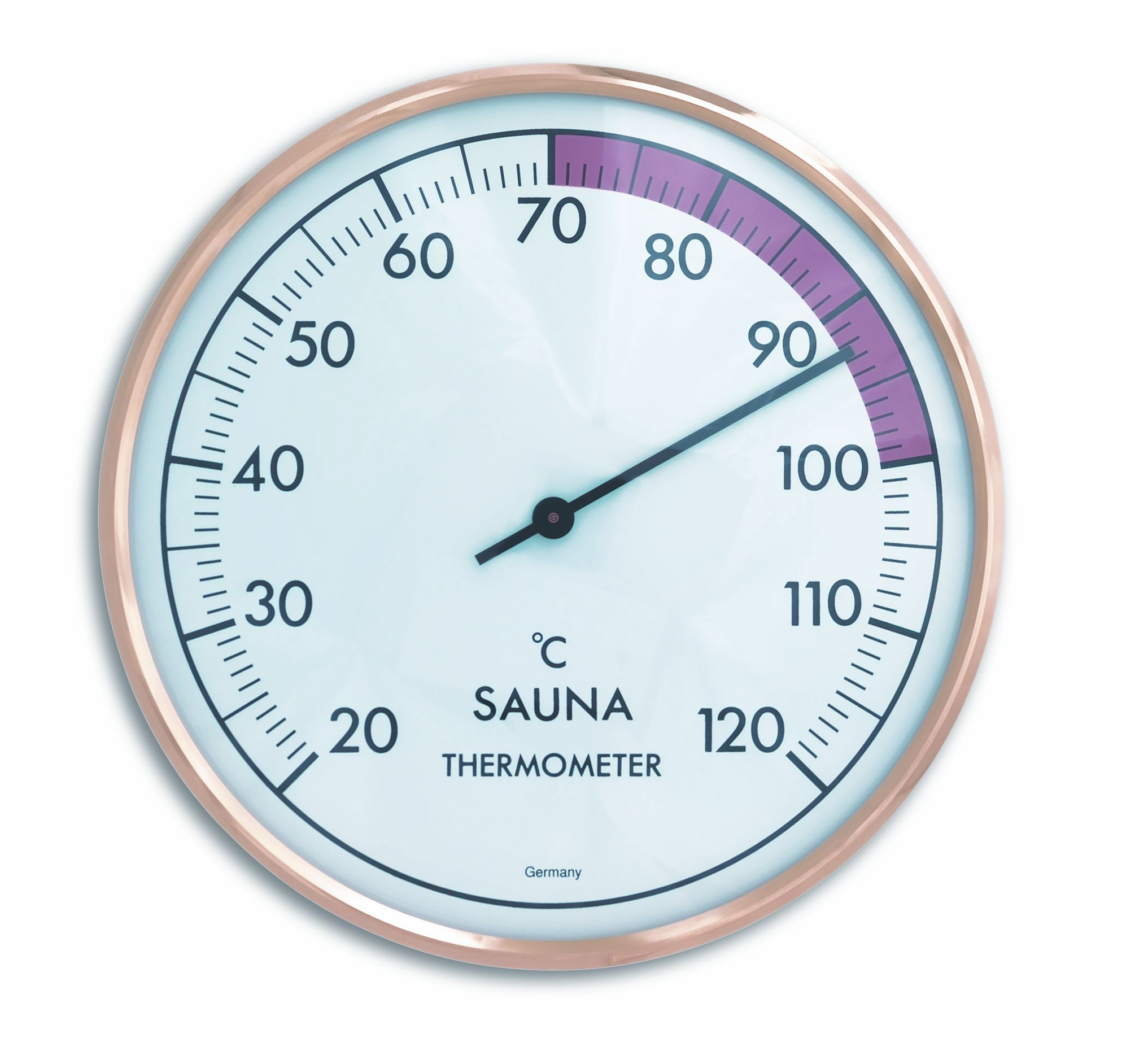 Sauna-Thermometer, Ø 162mm