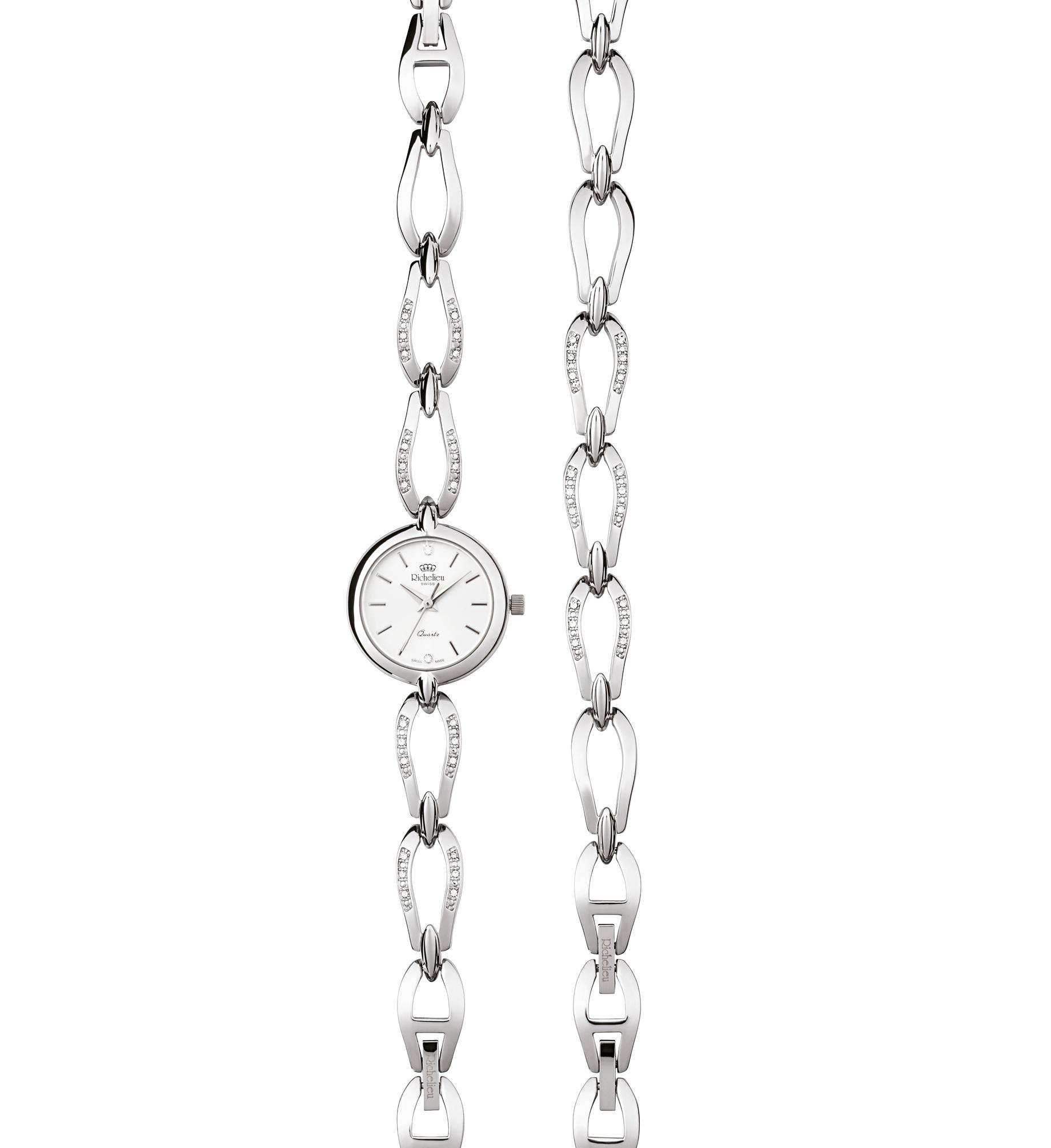 Elégant kit montre quartz pour dame « SWISS MADE »