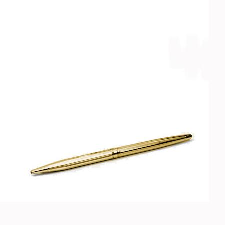 Ball pen in gold W/Refill