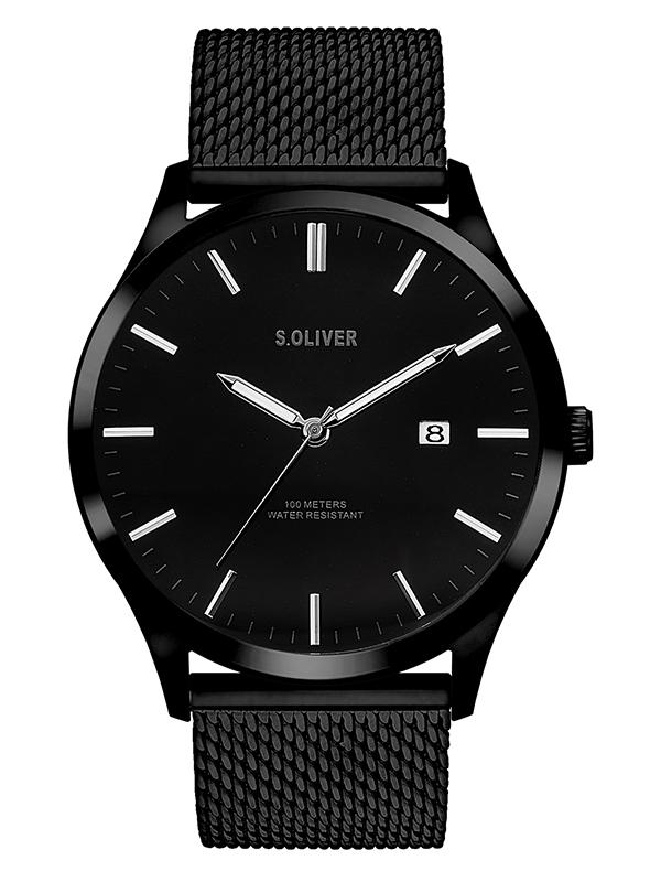 s.Oliver Herren Armbanduhr SO-3479-MQ