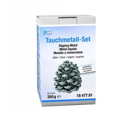 Tauchmetall Komplett-Set, Farbe Silber