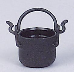 Kunststoff Kessel, schwarz