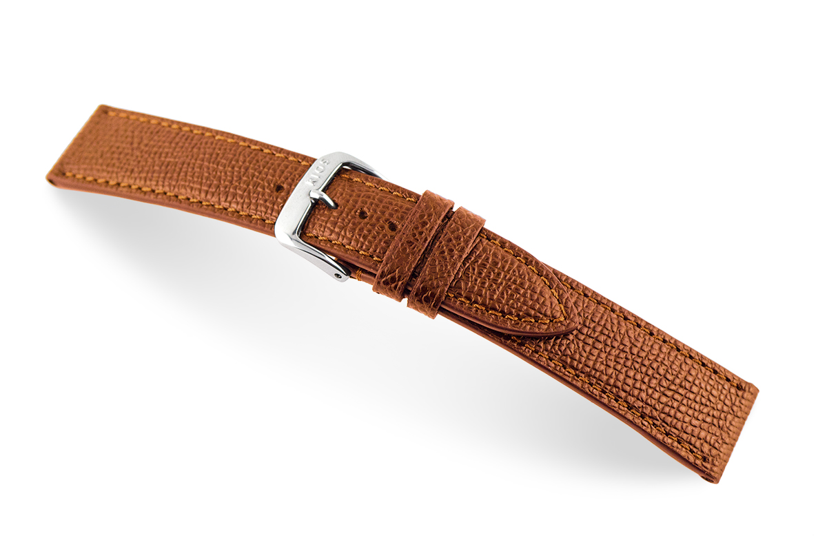 Leather strap Pasadena 20 mm cognac