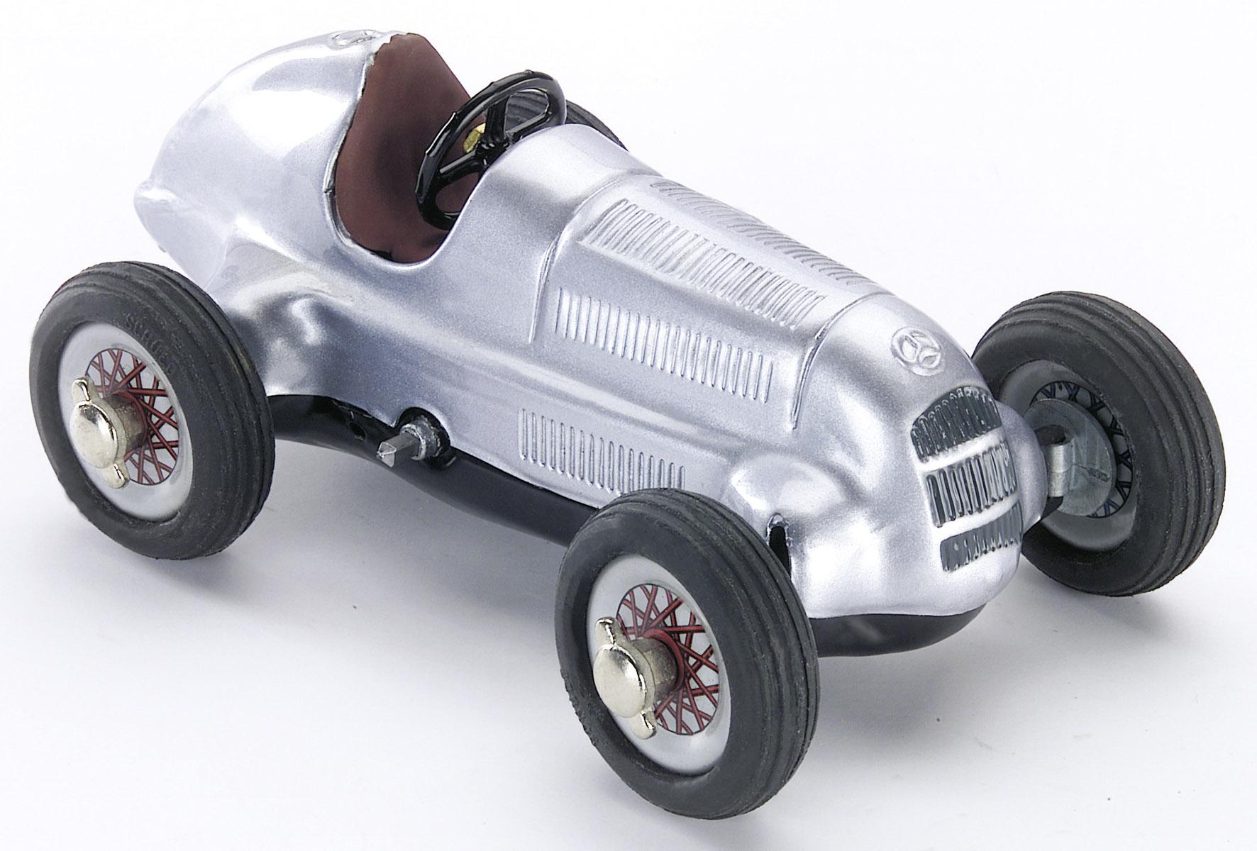 SCHUCO-Modell Mercedes Silberpfeil (Montagekasten)