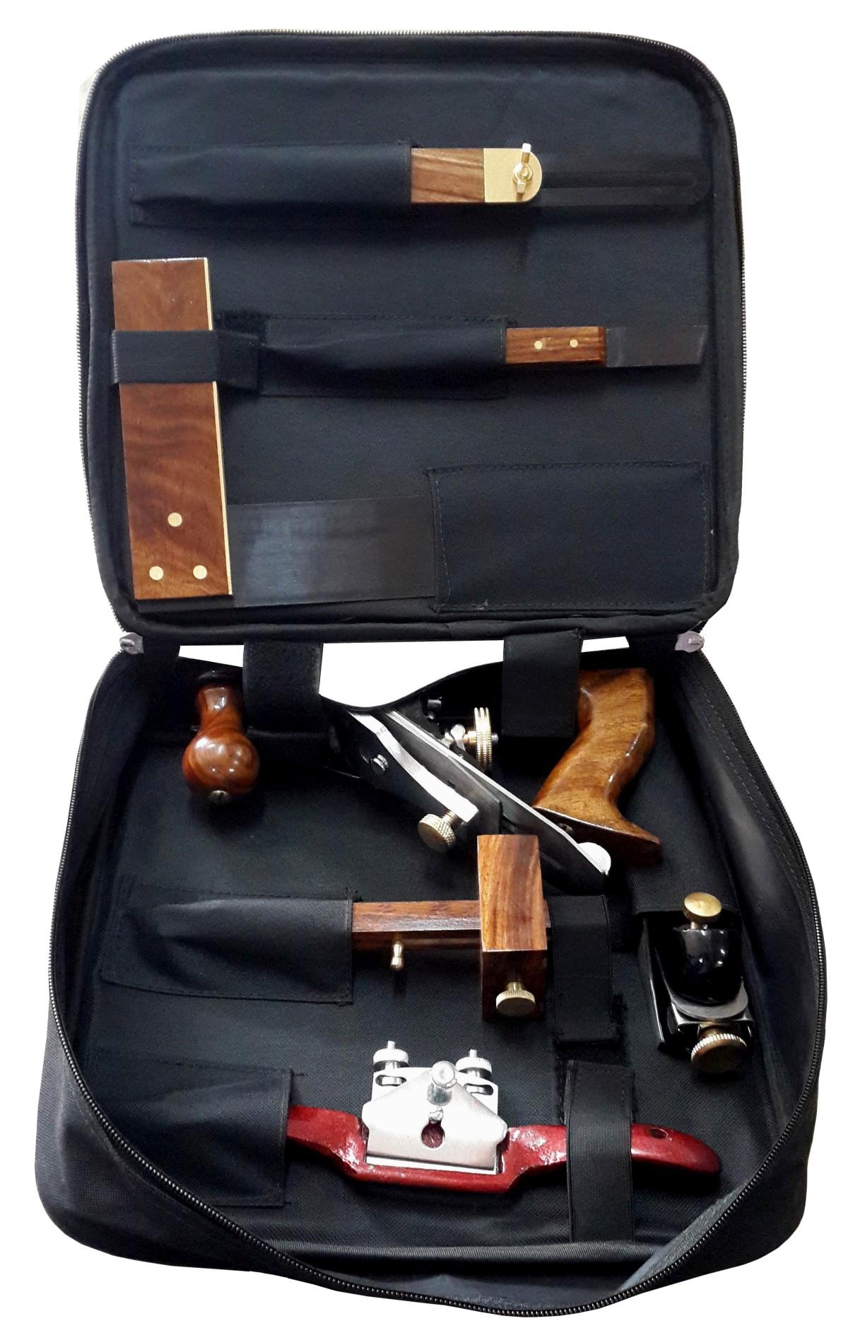 Professionelles Werkzeugset für Schreiner, Tischler, Zimmerer, Holzbearbeiter