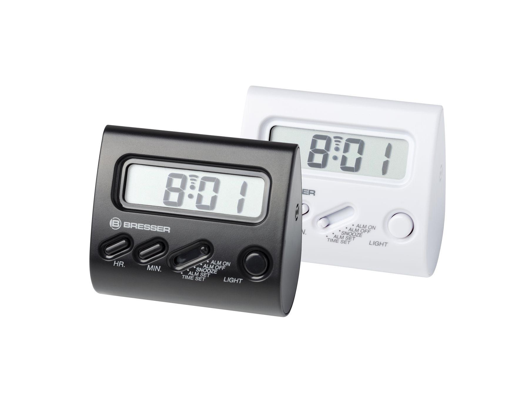 Wecker Yo-Yo mit LCD-Display weiß