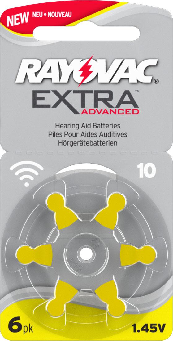 Rayovac 10 Hörgeräteknopfzelle