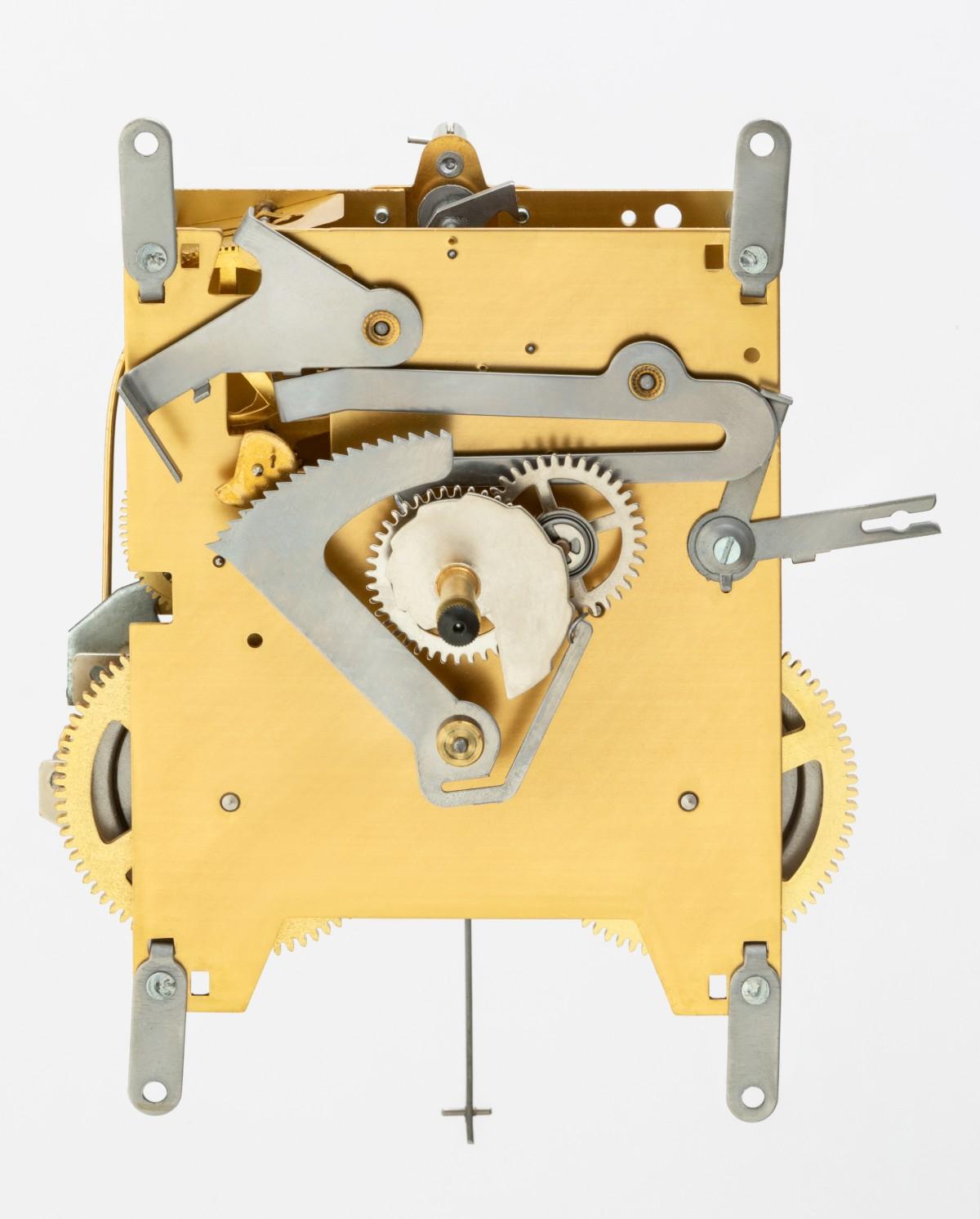 Heimuhrwerk AMS (Mayer) 150, 8-Tage, Pendel 73cm , Schlag auf Glocke