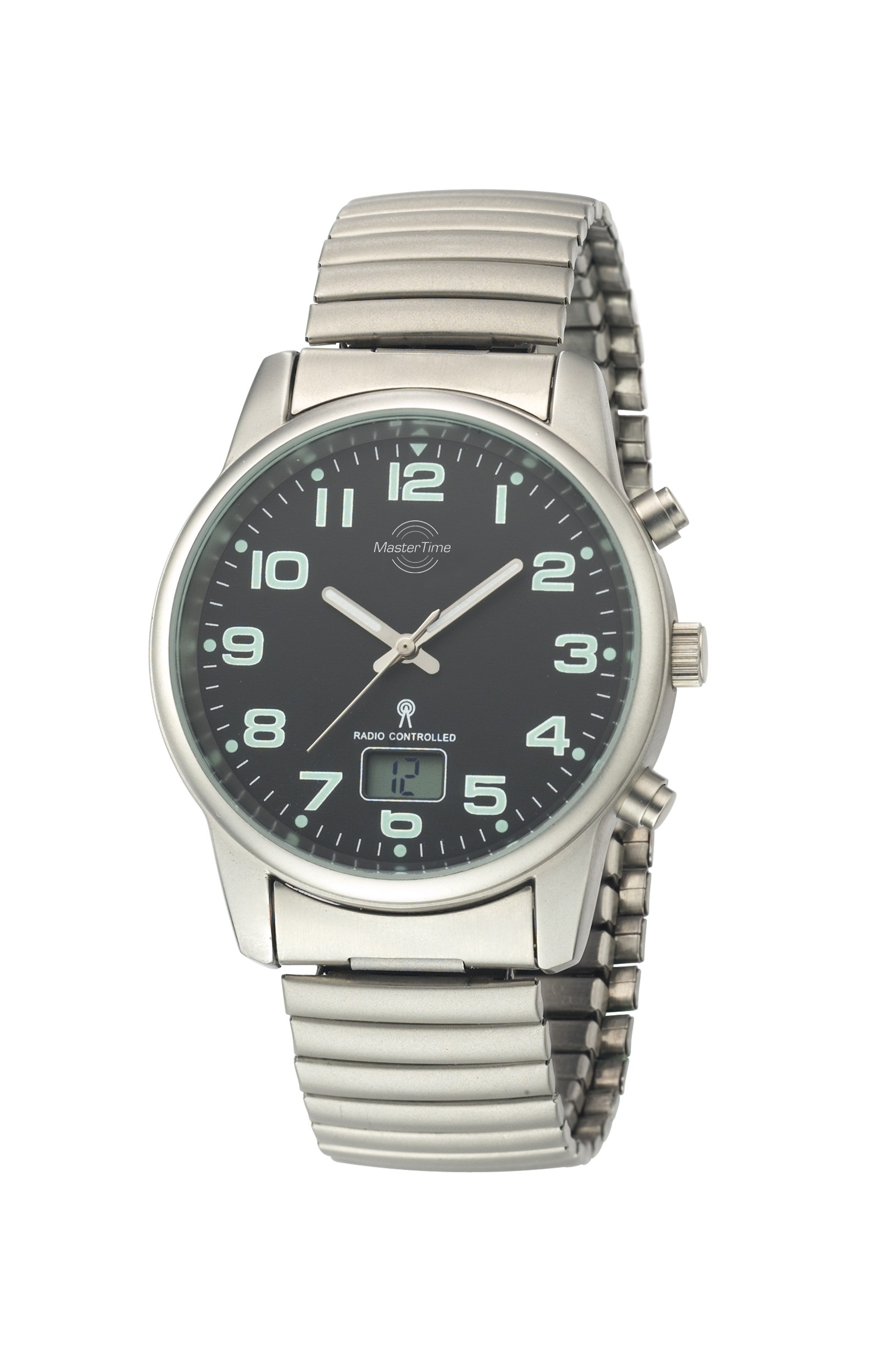 MasterTime Radio Controlled Basic Series Gents Watch