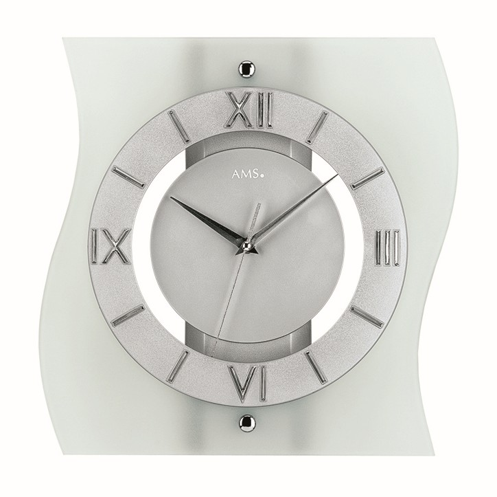 AMS Radio controlled wall clock Wels