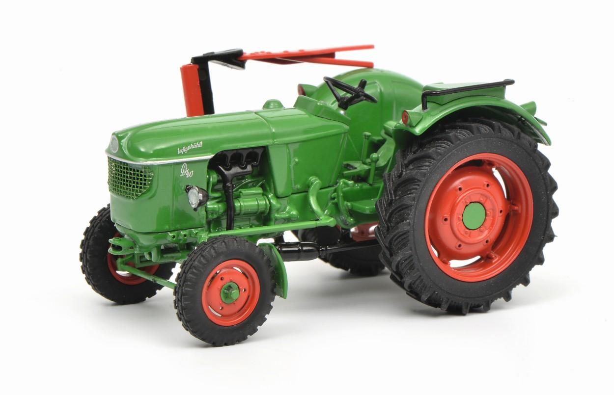 SCHUCO Tracteur modèle Deutz D 40 L, vert