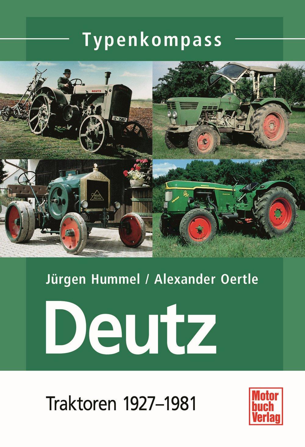 Buch Deutz 1: Typenkompass 1927-1981