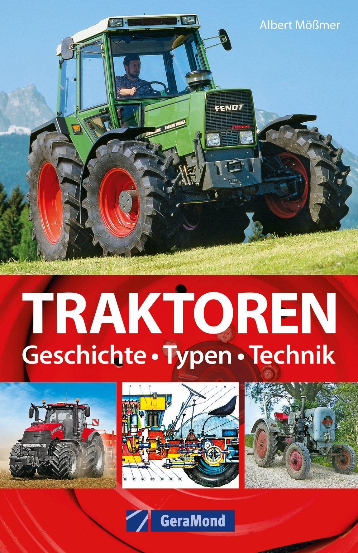 Buch Traktoren - Typen, Technik, Einsatz