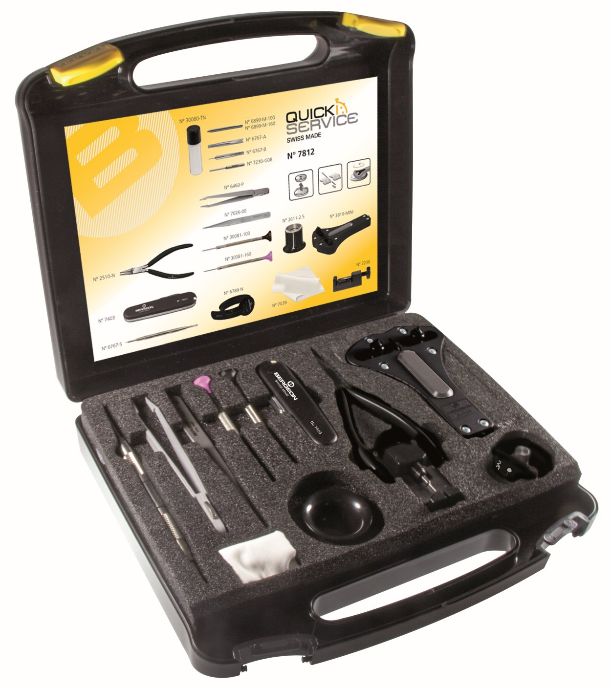 Tool box the battery and band replacement Bergeon