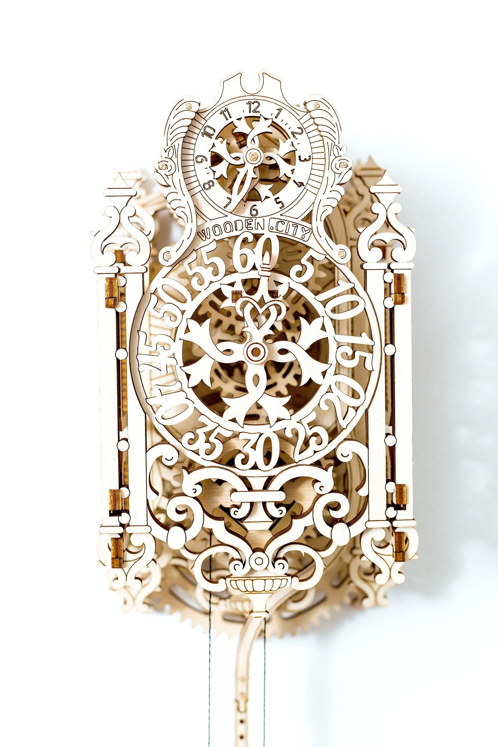 WOODEN CITY Royal Clock, 156 pieces