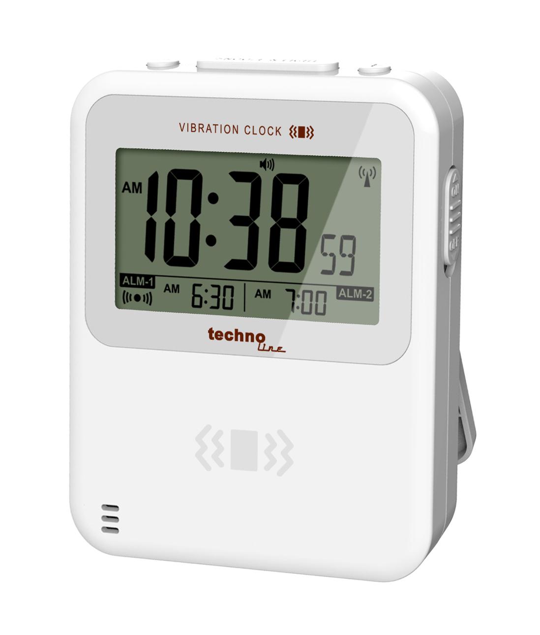 Technoline Vibration Alarm Clock Quartz
