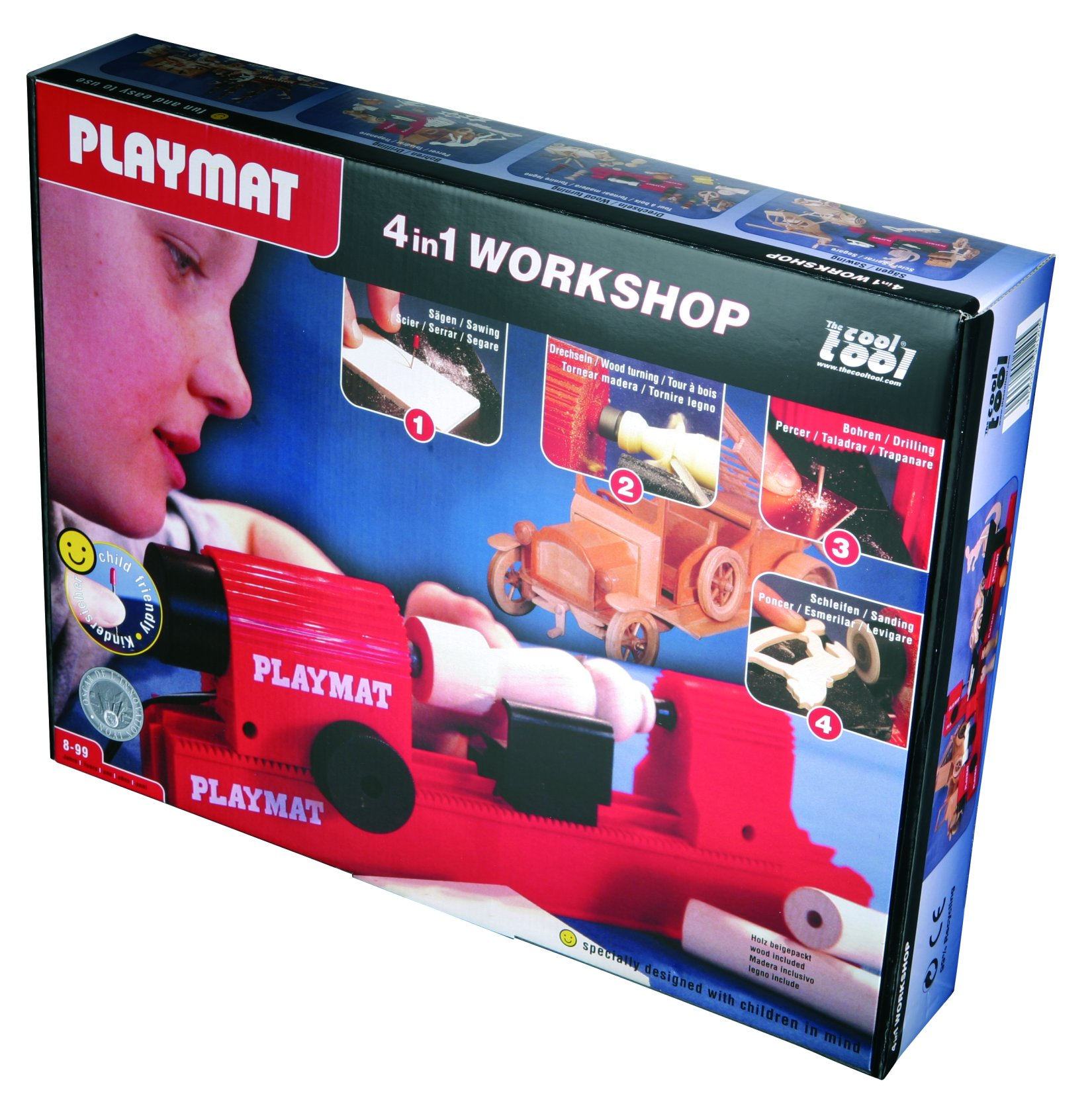 Playmat Modelling tool kit 4in1 specifally for kids