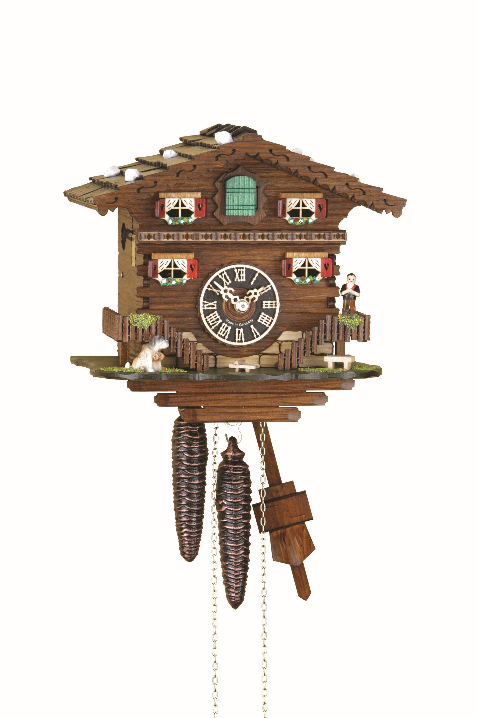 Cuckoo Clock Bad Ragaz with 1-day-movement