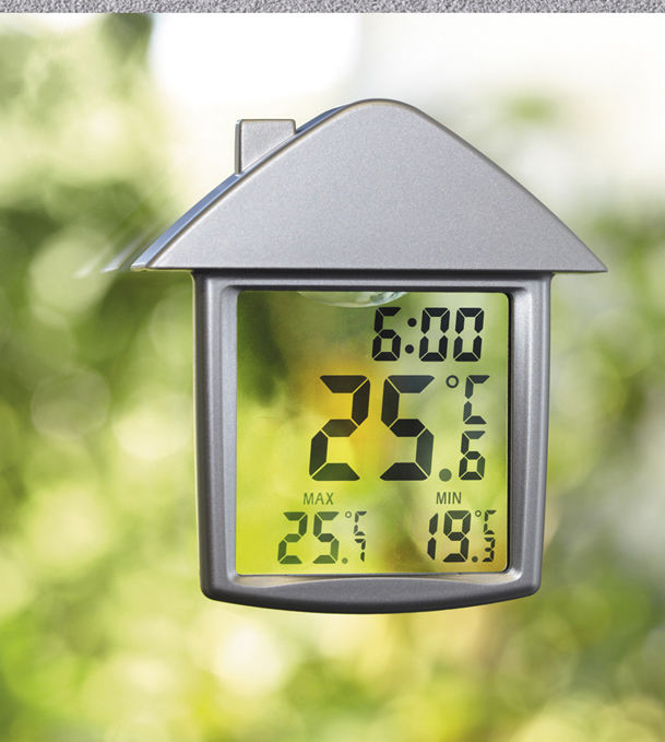 Digitales Fensterthermometer