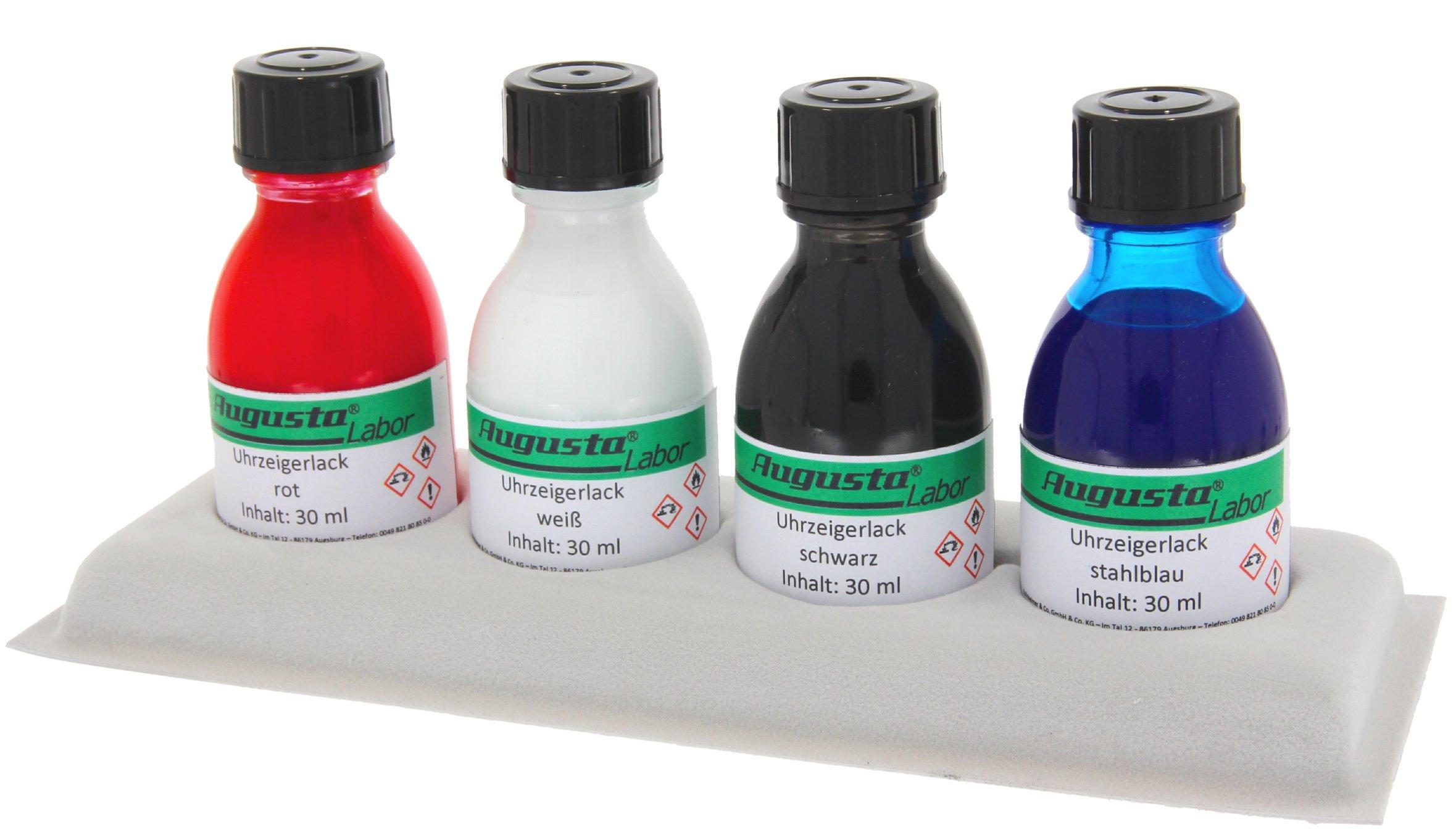 Gammes de vernis pour pointeurs assortiment incl. 4 couleurs
