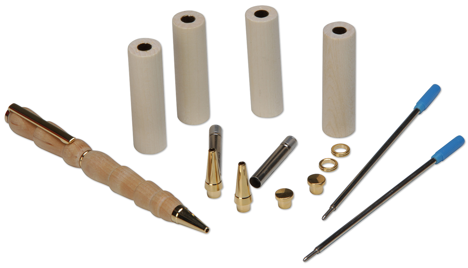 Basic equipment: Refill Kit for 3 Wooden Pens