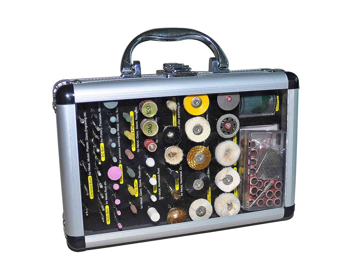 Werkzeugkoffer - Polieren, Schleifen, Trennen - 100-teilig