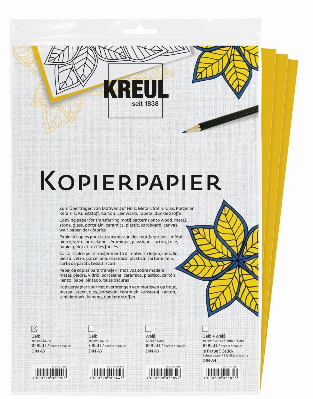 Carbon Paper White