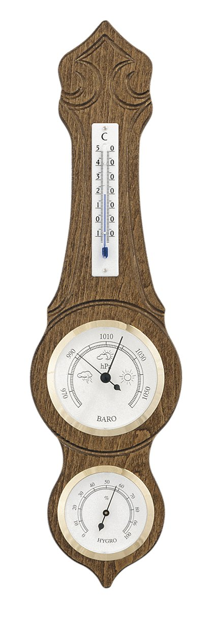 Weather station Made in Germany, oak