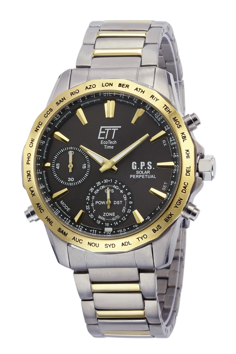 Eco Tech Time Solar Drive Radio Controlled Explorer Gents Watch