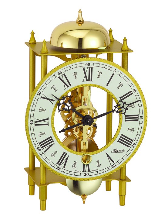 Horloge squelette murale et table HERMLE Fribourg II