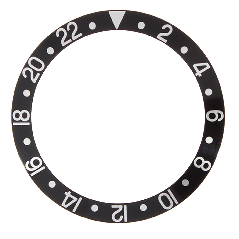 Lünetteneinlage RLX best passend 2-22, schwarz/weiß