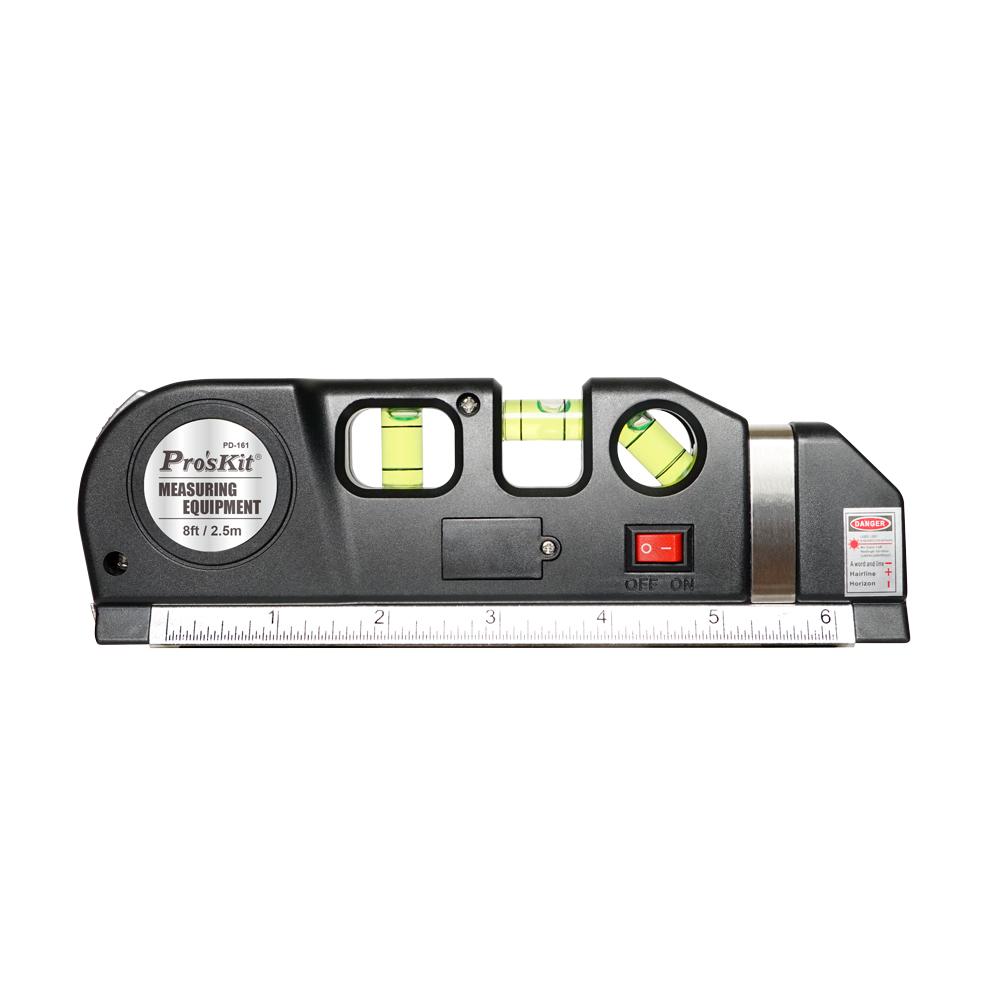 Multi-Wasserwage mit Laser-Messung