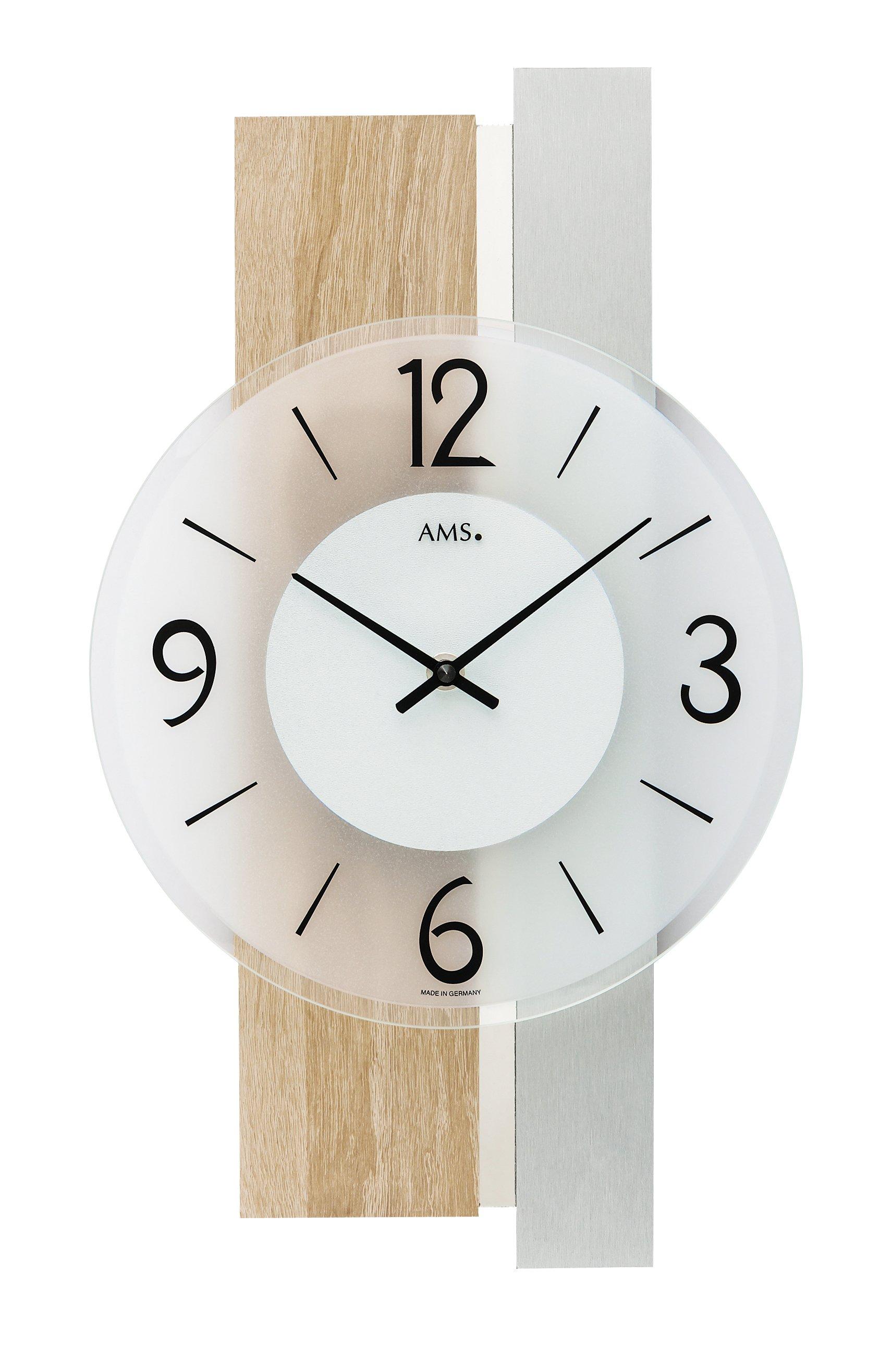AMS Quartz wall clock