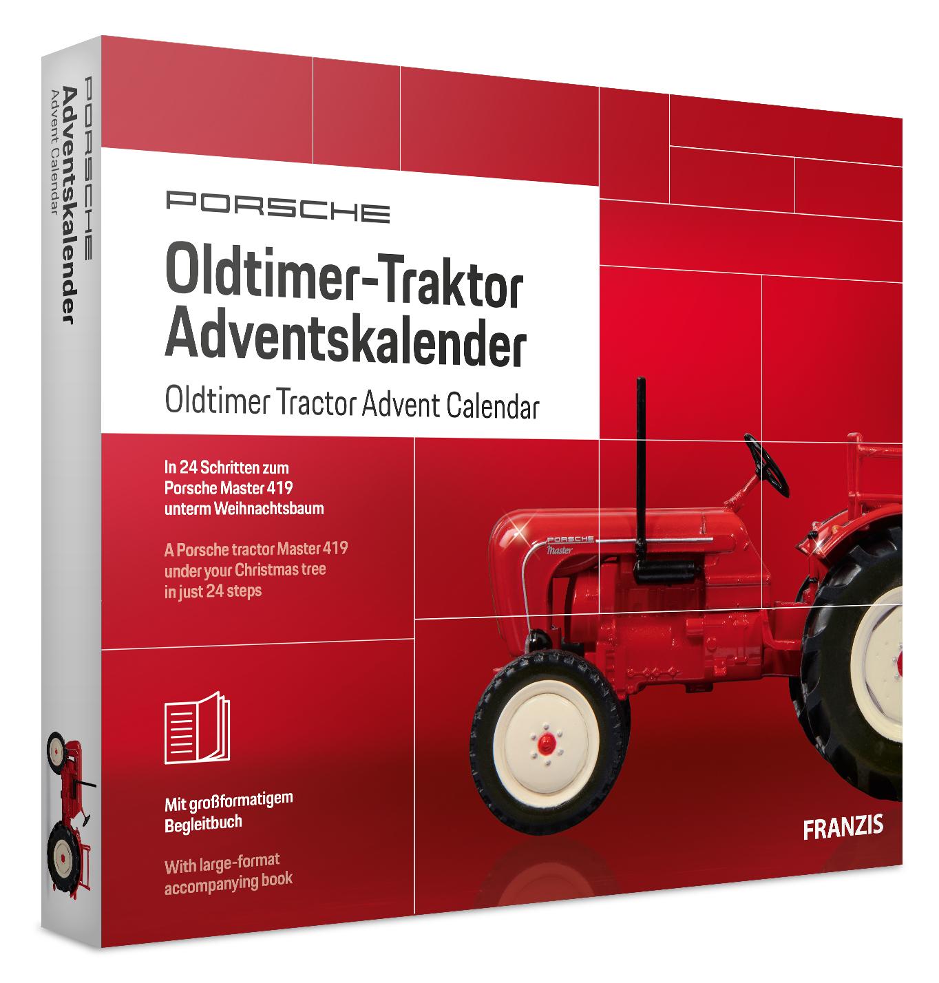 Adventskalender Oldtimer-Taktor