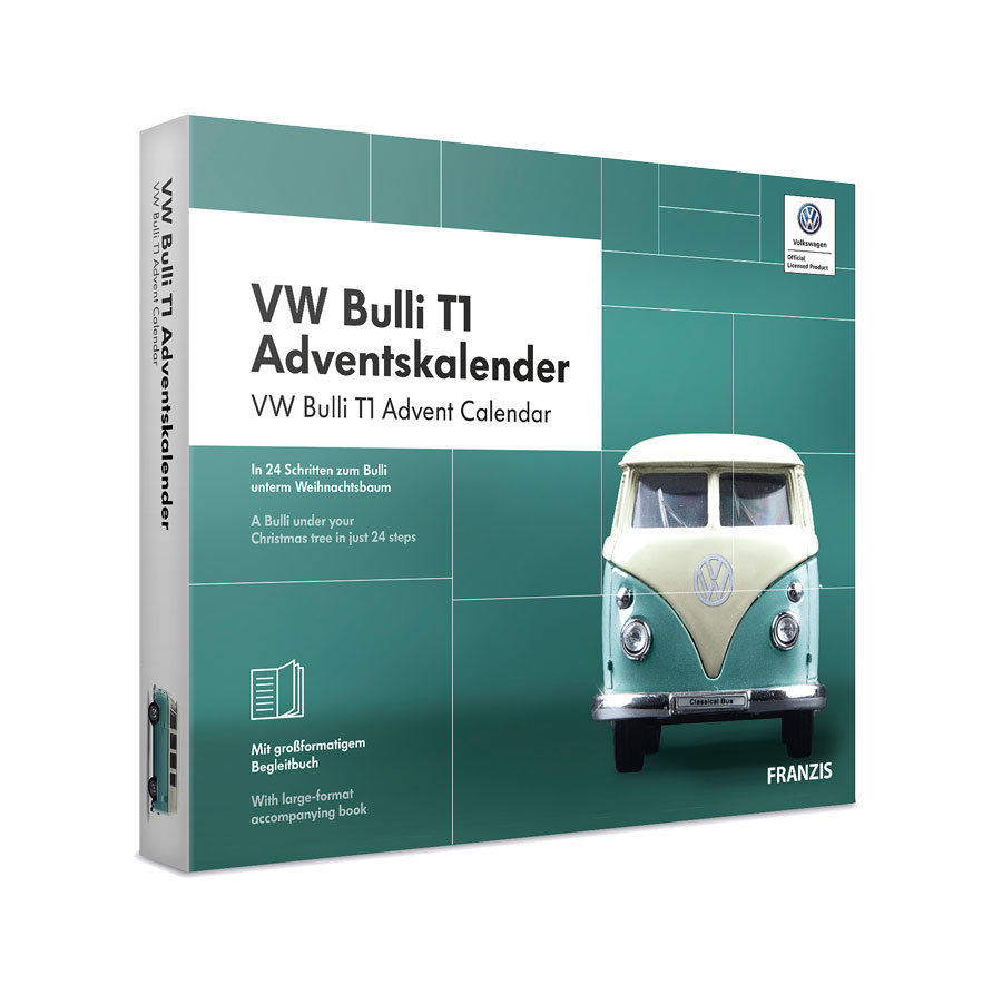 Adventskalender VW Bulli T1