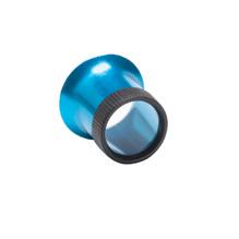 Lupe aus eloxiertem Aluminium 2,5x