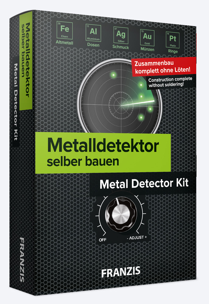 Metal detector kit