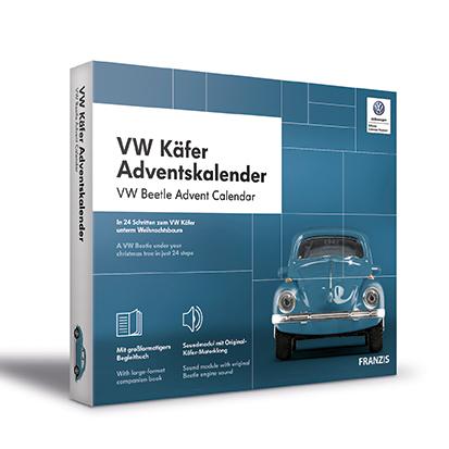 Advent calendar VW Beetle