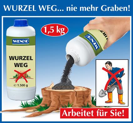 Wurzel-Weg, 1500g