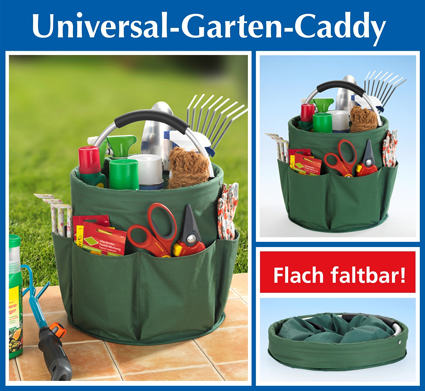 Garden caddy, green