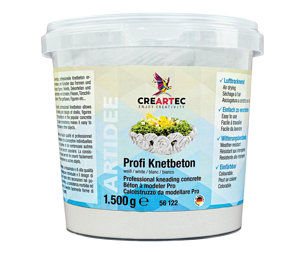 Profi-Knetbeton weiß, 1500g