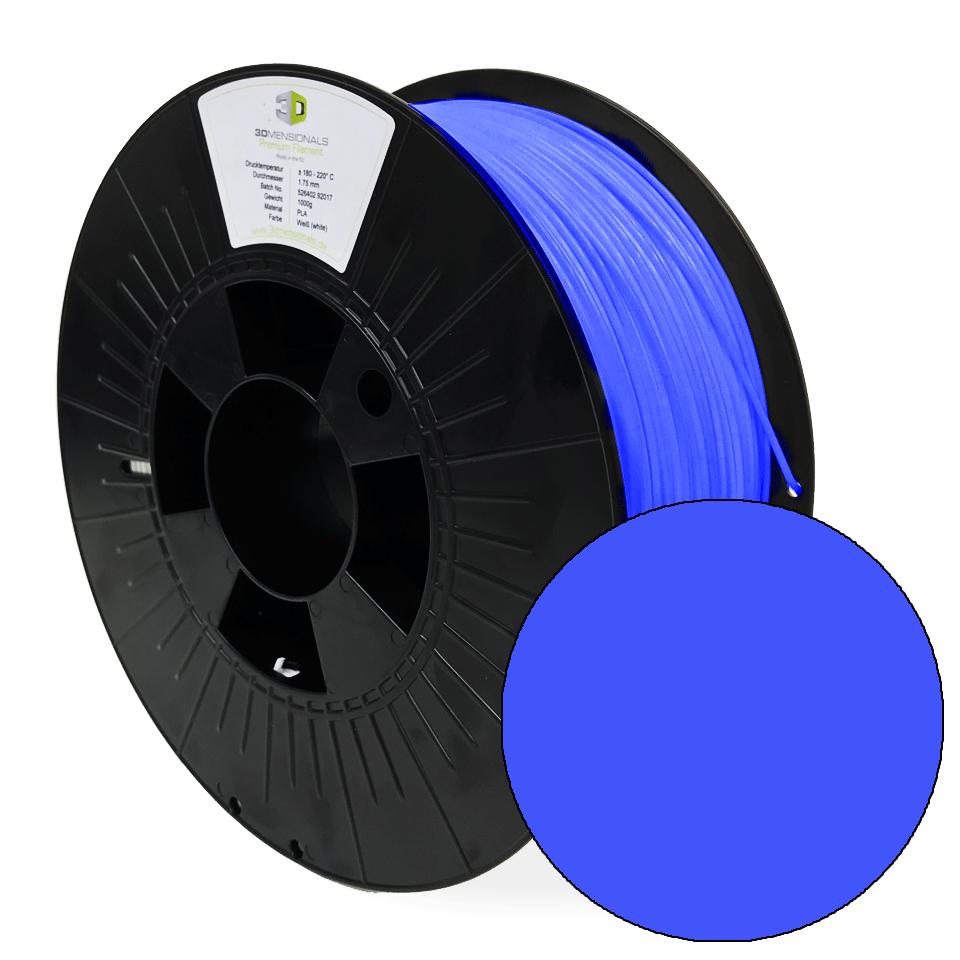 3Dmensionals PLA 3DFilaments blue, Ø 1,75mm