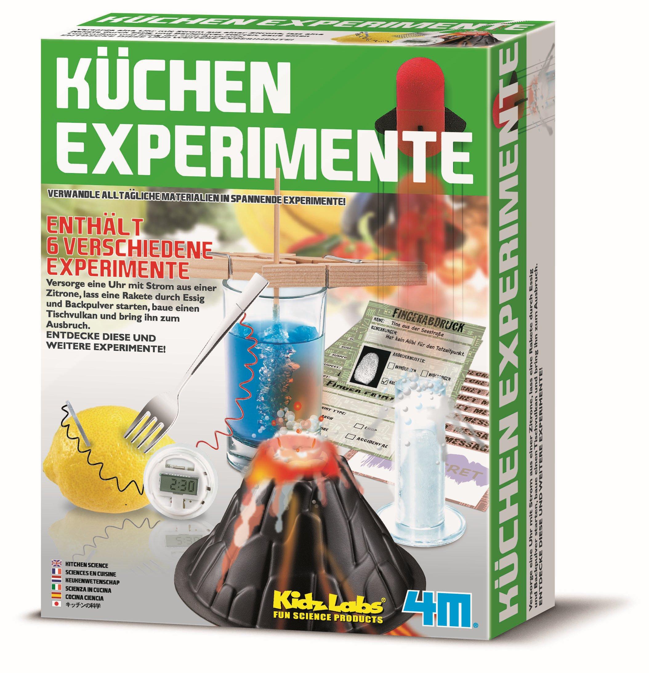 KidzLabs Küchen Experimente
