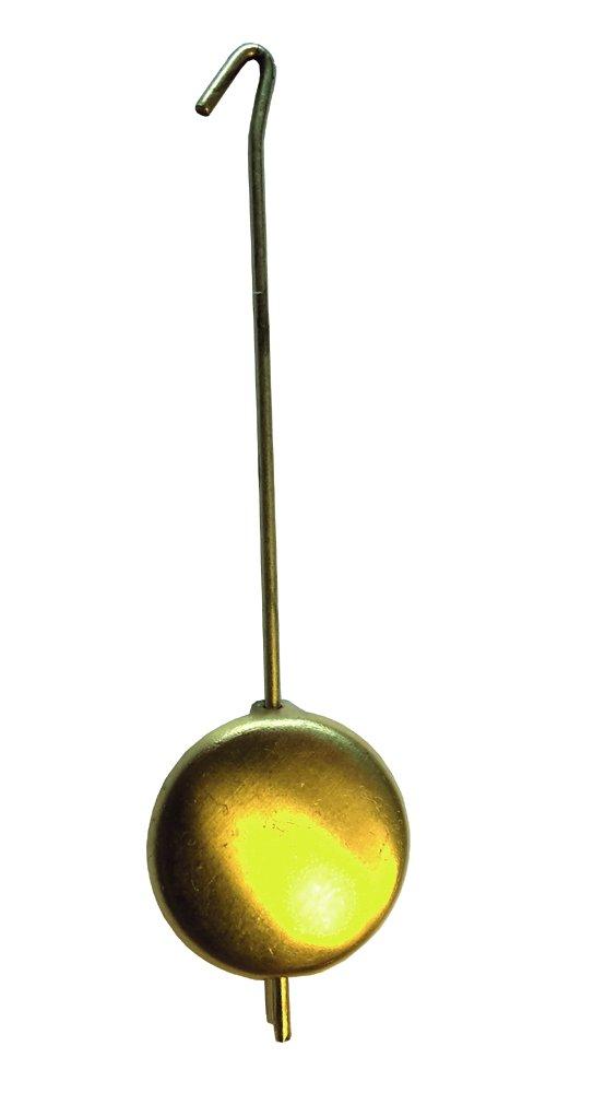 Mechanik-Jockelependel Messing gelb mattiert L:32mm Ø:16mm